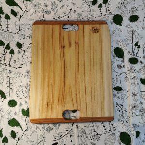 Large rectangular wooden cutting board