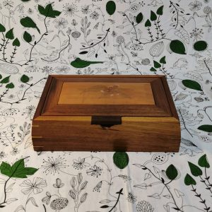 Rectangular 5- divider Timber Jewellery box