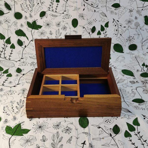 5- divider wooden jewellery box