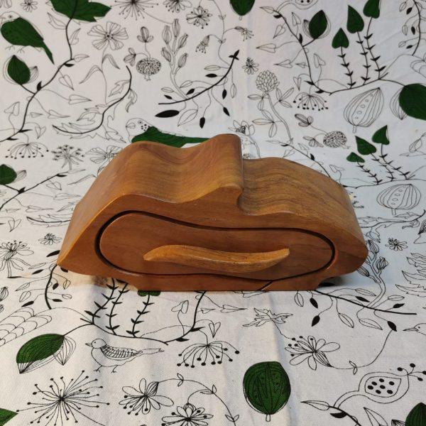 Wooden drawer jewellery box